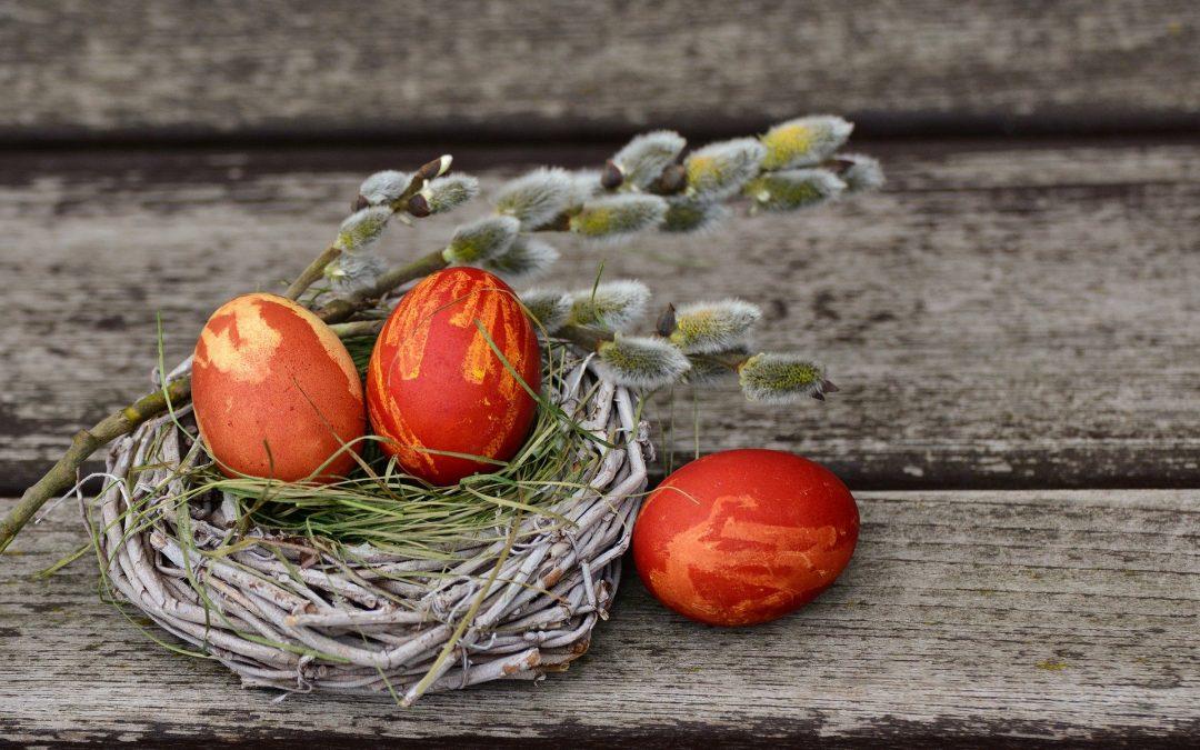 Ostereier färben mit Naturmaterialen