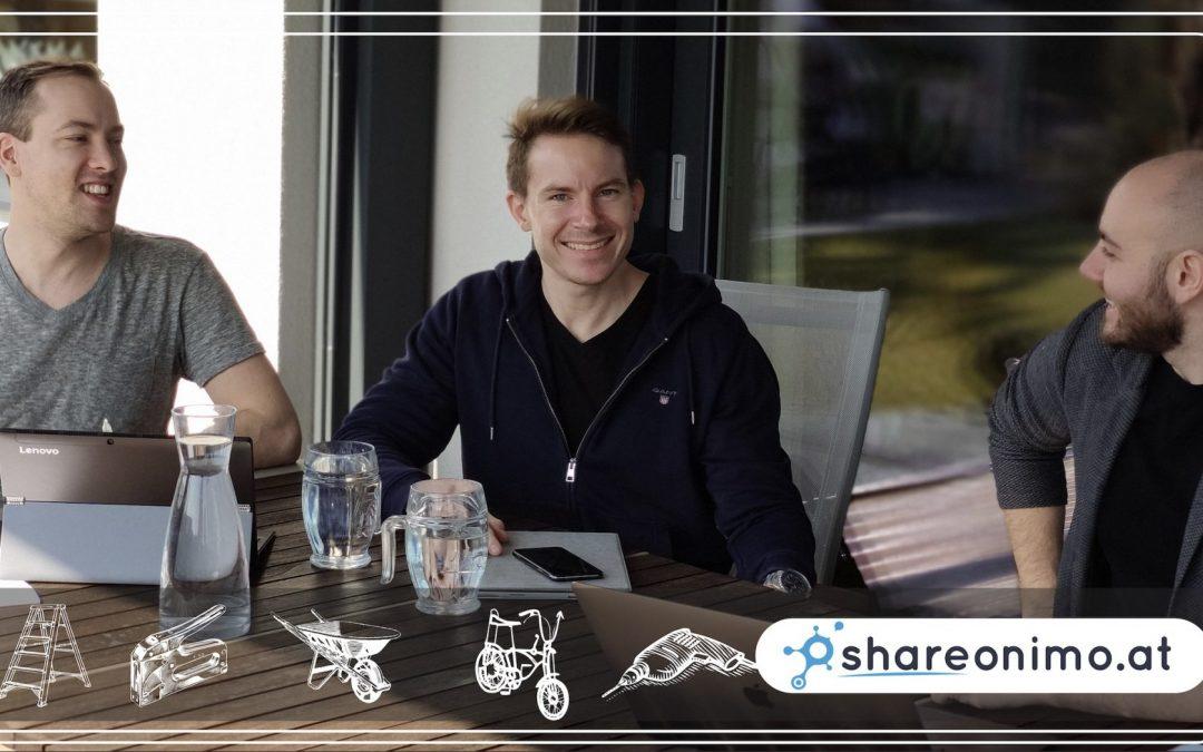 shareonimo.at – die Verleih-Plattform zum Teilen von Ressourcen