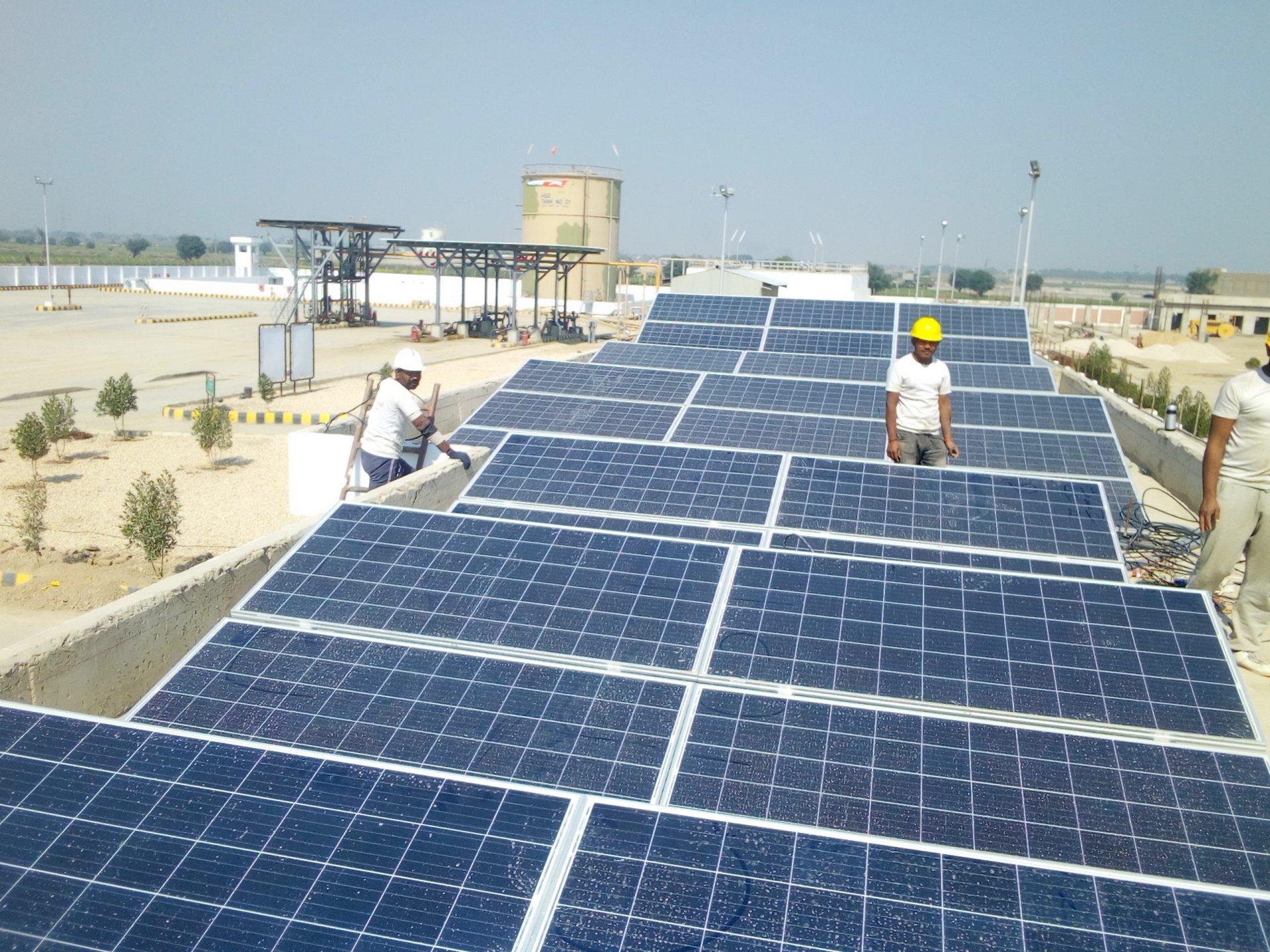 Solarenergie in Indien
